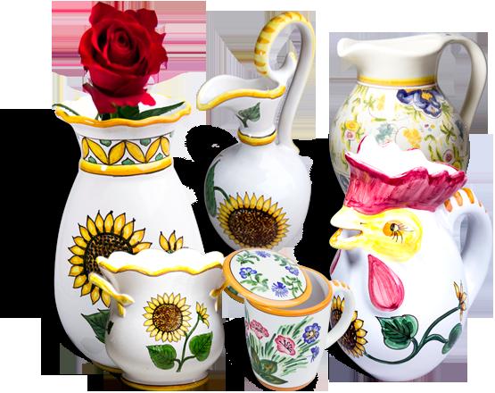 Produse din ceramică, lucrate manual prin care casa TA devine specială